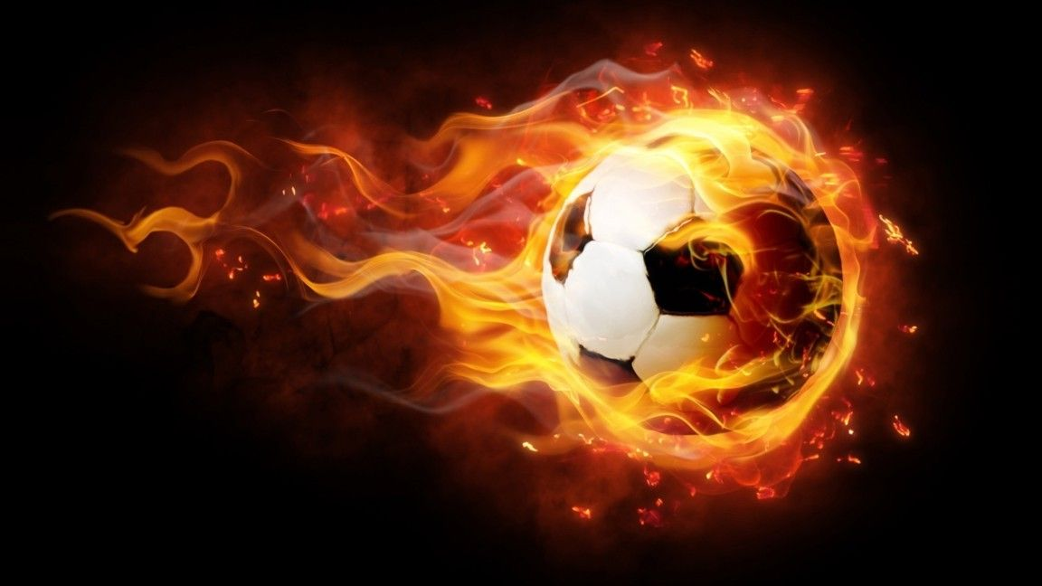 Soccer and Fire Backdrop | Football wallpaper, Soccer, Football